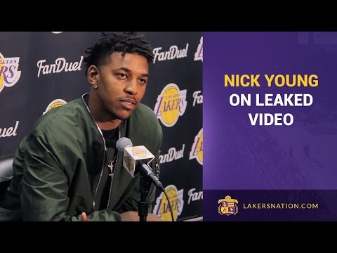 Nick Young On D'Angelo Russell, Leaked Video