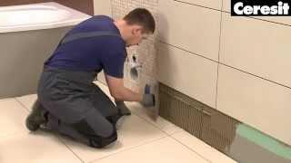 Как положить плитку в ванной комнате с помощью смесей Ceresit(, 2015-11-26T11:20:28.000Z)