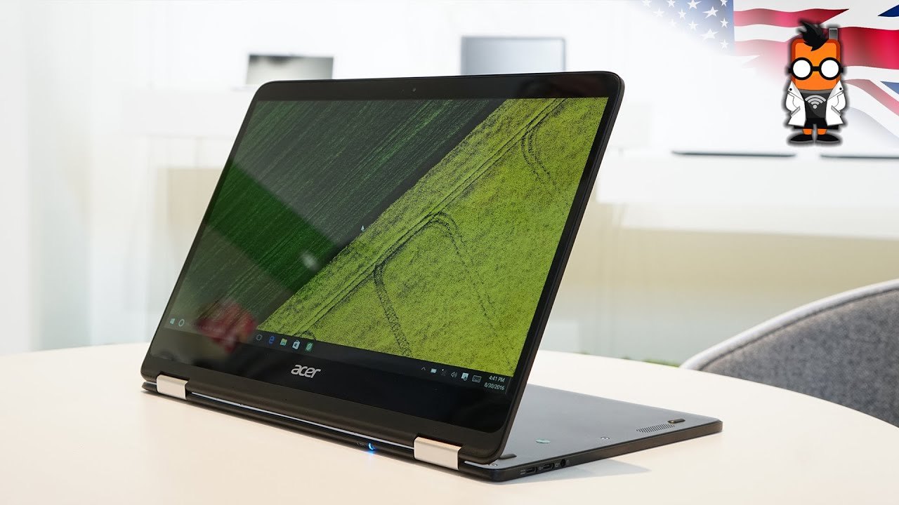 Acer Spin 7 Convertible 2 In 1 Notebook Hands On