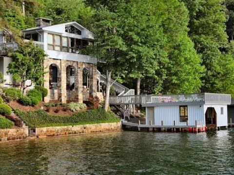 Wonderful Lakefront Home in Lake Lure North Carolina YouTube
