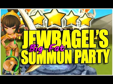 SUMMONERS WAR: Jewbagel's Big Fat Summon Party!