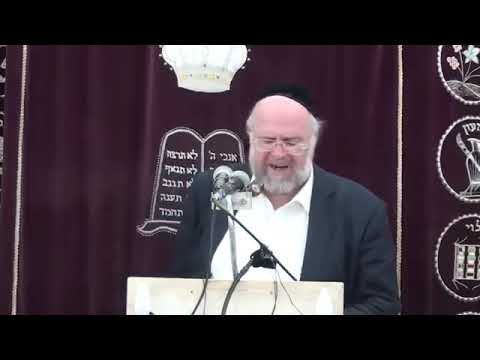 הרב ברוך רוזנבלום פרשת תצוה 1 שיעור ברמה גבוהה על פרשת תצוה הרב ברוך רוזנבלום
