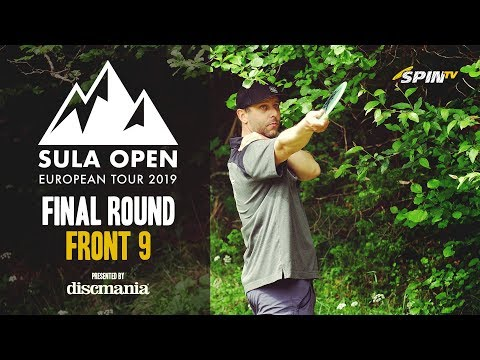 Sula Open 2019 MPO Lead Card Final Round Front 9