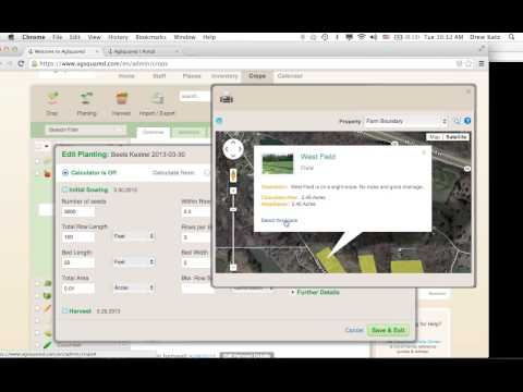 AgSquared for Beginning Farmer Trainers  A Tool for Teaching Crop Planning and Recording Keeping to