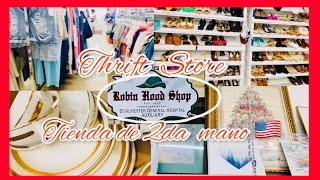 Shop with me /Thrift Store/ Recorrido Tienda de 2da mano local. Tiendas económicas en USA/ THRIFTING