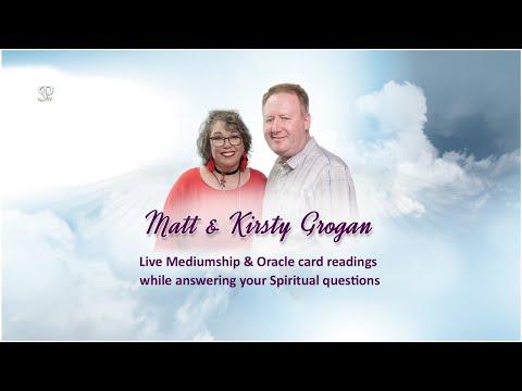 FREE Mediumship & Oracle readings with Matt & Kirsty