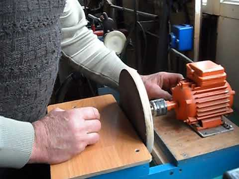 дисковый шлифовальный станок своими руками.