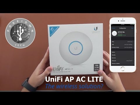 Unifi AP AC Lite - Easy Step By Step Setup Using Only Your Mobile Phone!