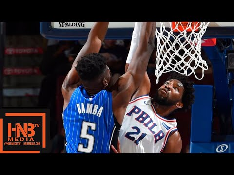 Orlando Magic vs Philadelphia Sixers Full Game Highlights | 01.10.2018, NBA Preseason