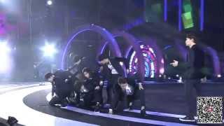 Repeat youtube video 141213 咪咕汇盛典 - EXO Overdose 上瘾