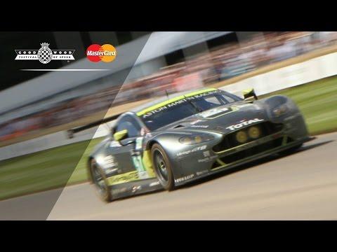 Young Gunn Takes 480BHP Aston Martin Le Mans Racer To The Edge