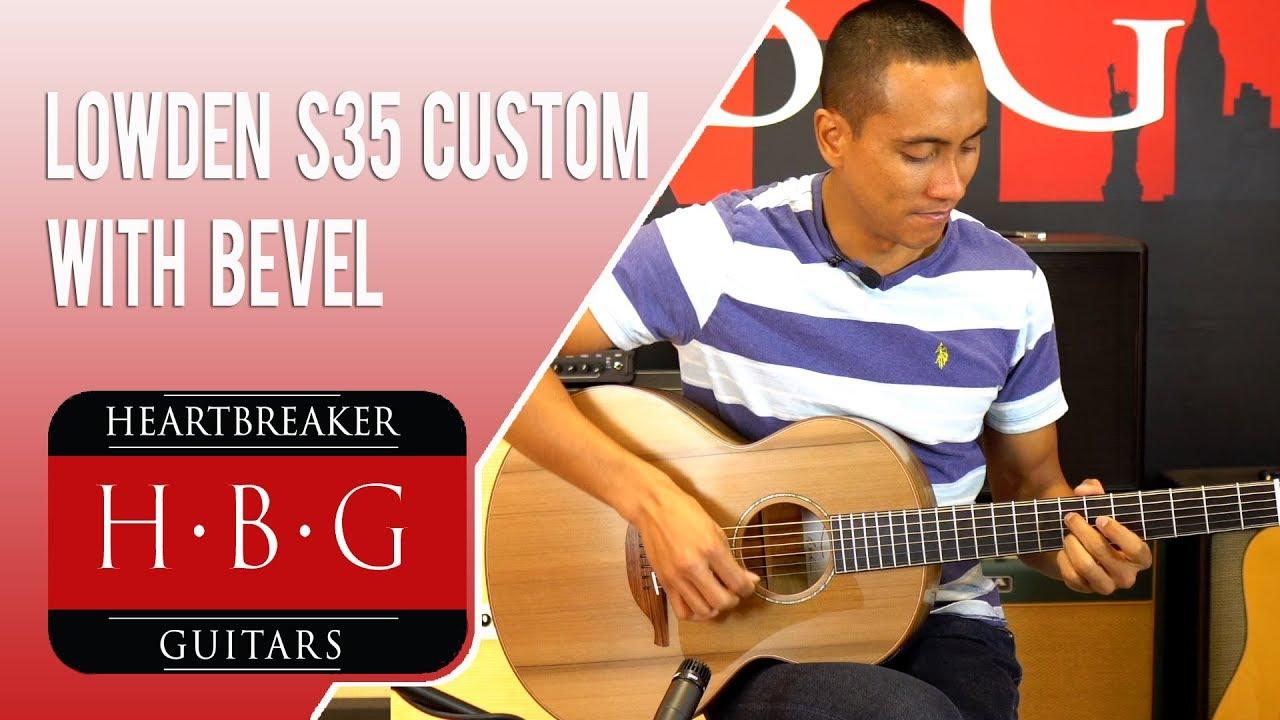 Lowden S35 Custom High End Redwood Acoustic Guitar Master Grade Myrtle with  Drift Cedar