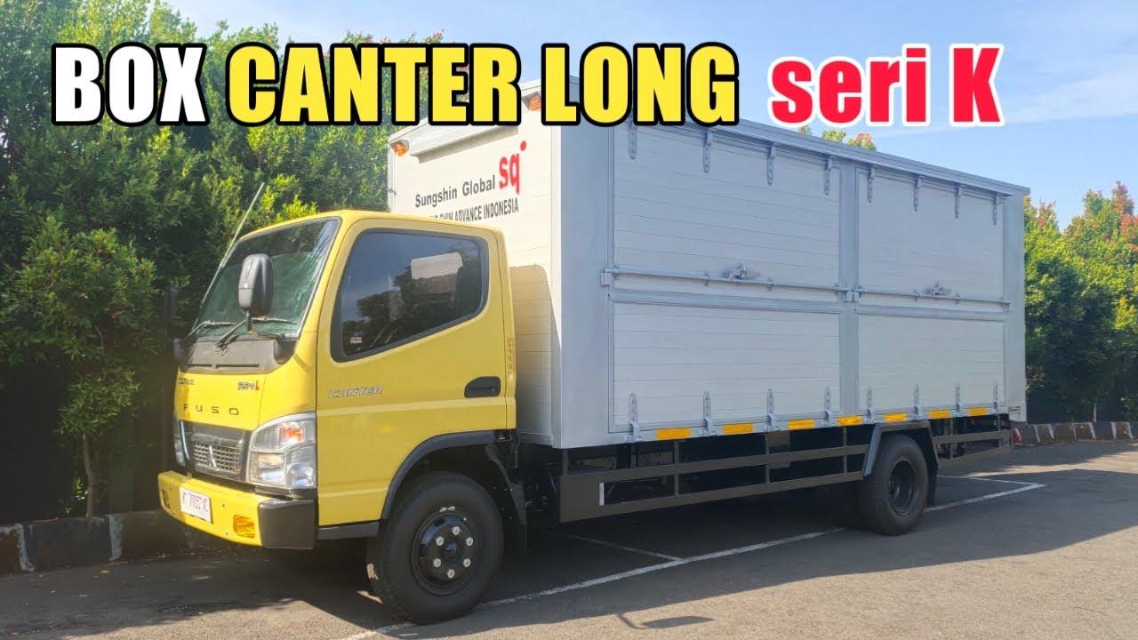 Dimensi BOX CANTER LONG seri K,Gak Usah sambung chassis