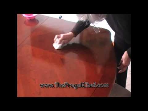 Frugal Tip - Homemade Furniture Polish