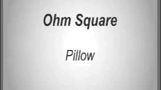 Ohm Square - Pillow
