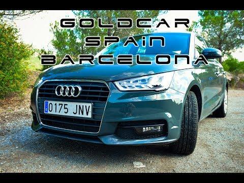 Прокат авто в Испании. Барселона. Камбрильс. Goldcar. Осень 2016