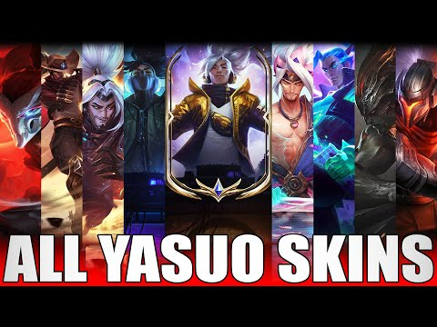 All Yasuo Skins Spotlight 2020 - Including Prestige True Damage Yasuo