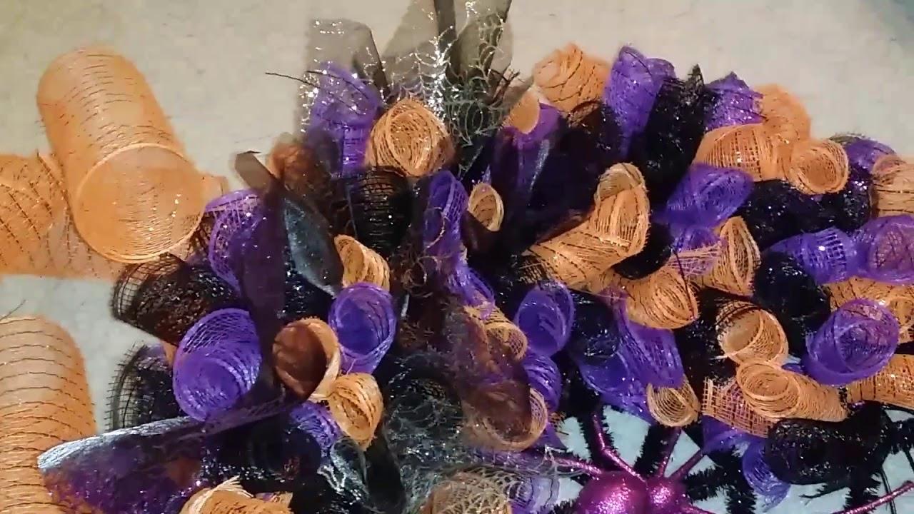 Halloween Deco Mesh Wreaths