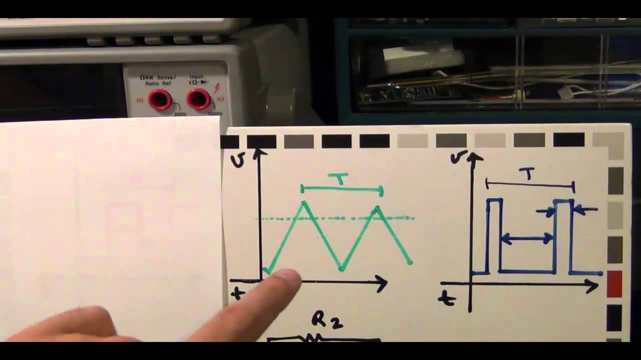 Tsp 5 Op Amps Pwm And Ignition Coils Tutorial Part 1 3 Youtube The Pulse Width Modulation Circuit Diagrams From Video