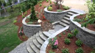 Good Garden Retaining Wall Decorating Ideas 2017