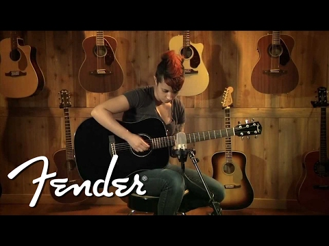 Fender Acoustic CD-60 Demo | Fender