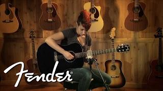 Fender Acoustic CD-60 Demo | Fender