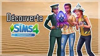 Découverte du pack StrangerVille : objets et vêtements ! Sims 4 StrangerVille