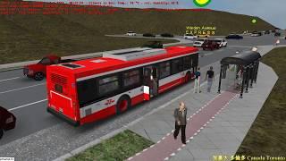 omsi 2 tour (1658) 加拿大 Toronto Bus 199C Yonge Street - Finch Rocket @ TTC New FLyer DE40