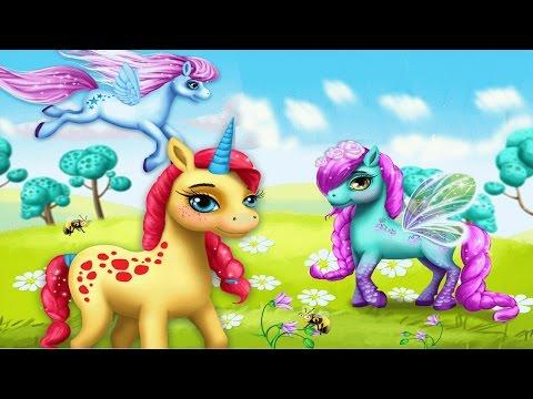 Маленькие Пони Курорт для Модниц.Маникюр Спа  и Парикмахерская для  Лошадок.Мультик для Детей