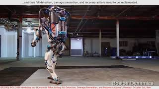 """IROS 2018 Workshop: """"Humanoid Robot Falling"""""""