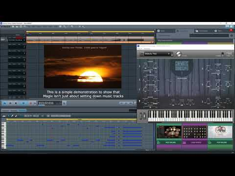 Magix Music Maker 2017 Premium - Video Background