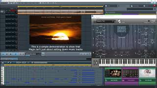 Magix Music Maker 2017 Premium - Video Background