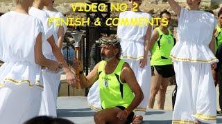 Logicom cyprus marathon  - (VIDEO NO 2 - FINISH & COMMENTS)