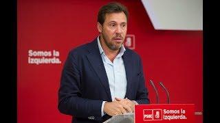 Rueda de prensa de Óscar Puente tras la reunión de la Ejecutiva