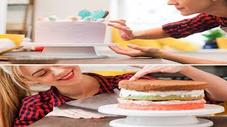 best turntable for cake decorating 2021