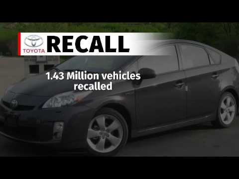 Toyota recalls 1. 4 million cars over possible airbag defects
