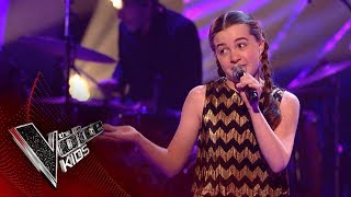 Ella Performs 'Don't Rain On My Parade': Blinds 3 | The Voice Kids UK 2018