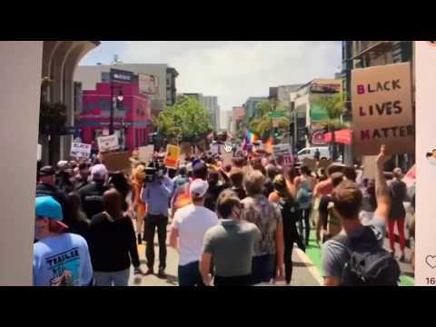 SF Pride Protest March 2020 Vlogs From CA Senator Scott Wiener, What Would Be SF Pride San Francisco
