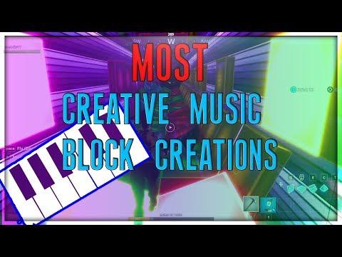 BEST Music Block Creations In Fortnite Creative! thumbnail