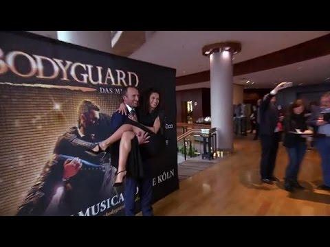 BODYGUARD - DAS MUSICAL ab November im Musical Dome in Köln / Die deutsche Produktion des Londoner Hit-Musicals präsentierte sich und seine Hauptdarsteller in Köln