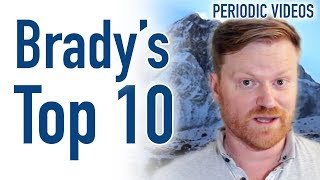 Brady's Top 10 - Periodic Table of Videos