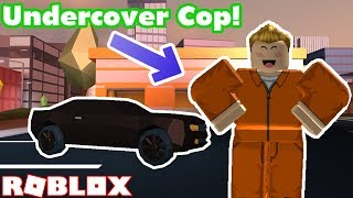 Being an UNDERCOVER Cop in Roblox Jailbreak!! - Roblox Jailbreak Nub the Bounty Hunter #16