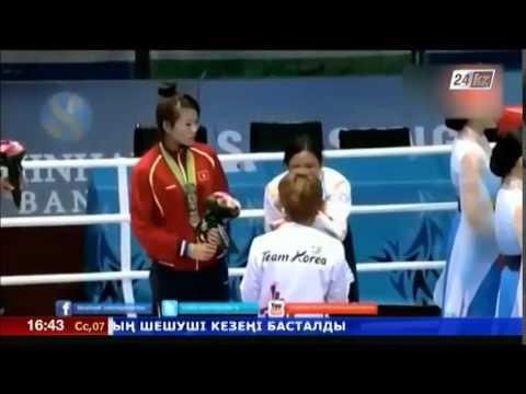 Индийская спортсменка отказалась от награды на Азиаде