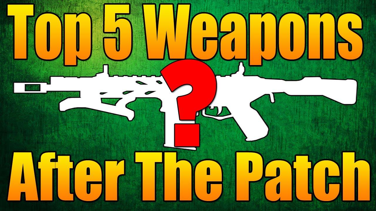 Call of Duty: Black Ops 2 II BO2 - Weapons List - COD