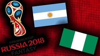 2018 RUSSIA FANTASY VB | NIGÉRIA - ARGENTINA