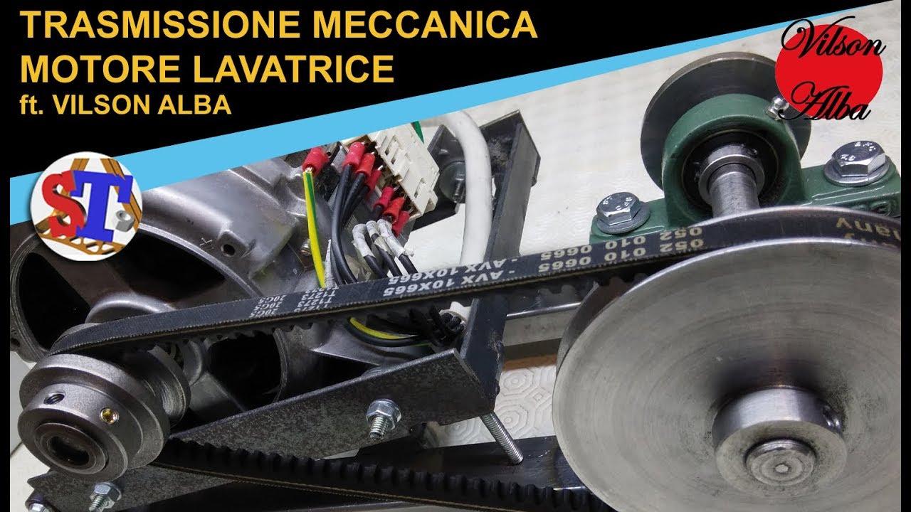 Trasmissione Meccanica Ft Vilson Alba Motore Lavatrice