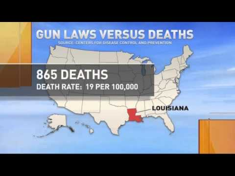 Are states with more restrictive gun laws safer?