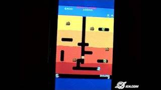 Namco Museum Battle Collection Sony PSP Gameplay - Dig Dug