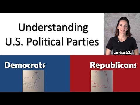 U.S. Political Parties - Talking Politics in American English - Language Notes 21