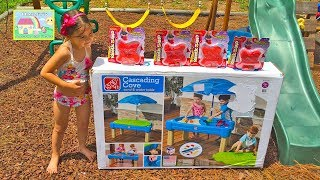 Step 2 Sand Water Table + Surprise Toys Orbeez Kinetic Sand Mlp Sheriffcallie Docmcstuffins Pets Toy